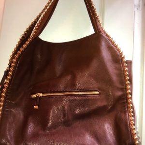 Big Buddha Bags - Large Big Buddha, Grayson Handbag Maroon/Burgundy